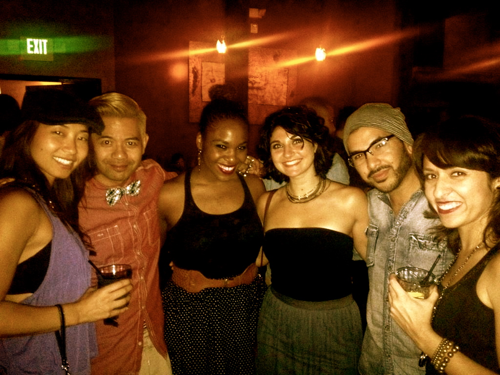night out with old fam: Breed OCLA