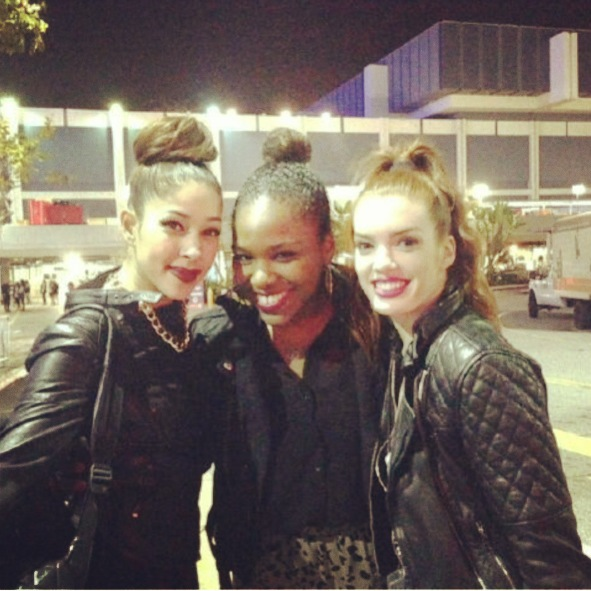 Beyonce concert...Kim and Amandy inspired me so much up on that stage!
