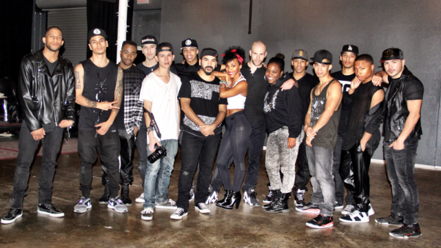 What a cast! Choreography video shoot with some greatness!