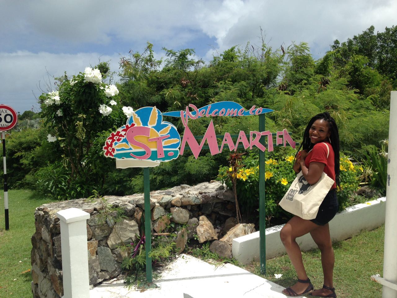 First time in St Maarten to teach!