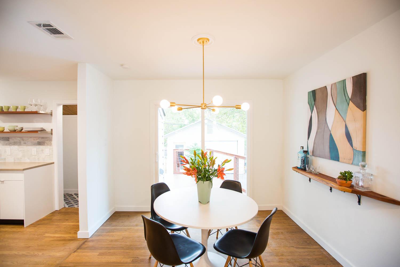 3208 Cherrywood Austin Mid Century Modern Dining Room
