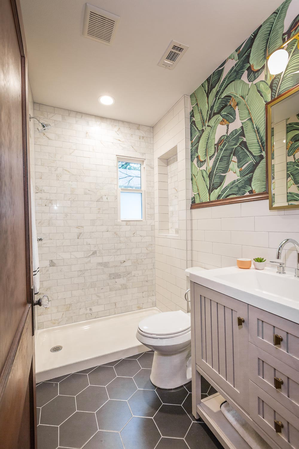 Another view of the master bathroom in this amazing bungalow.