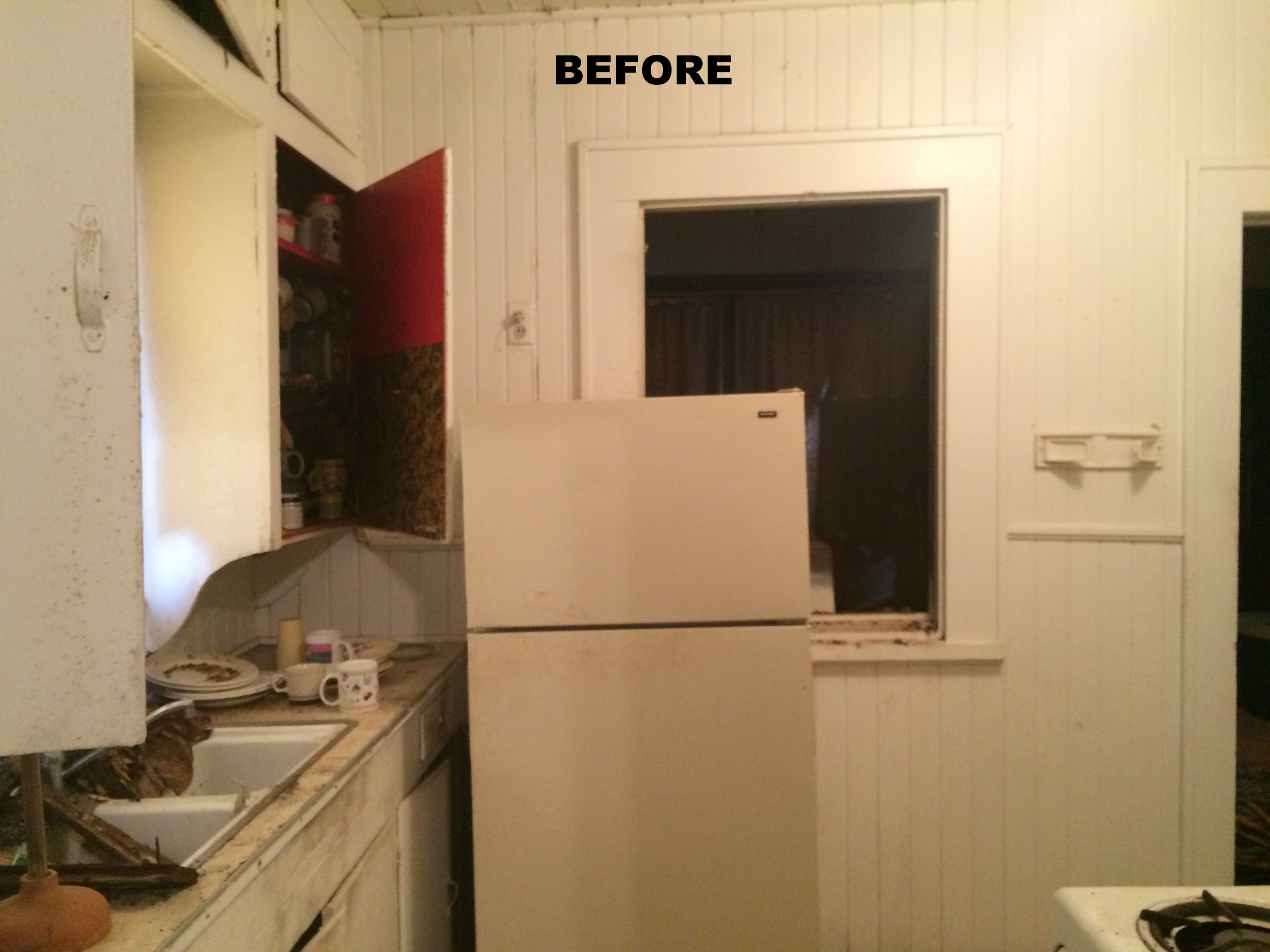 The kitchen just needed a little paint right?