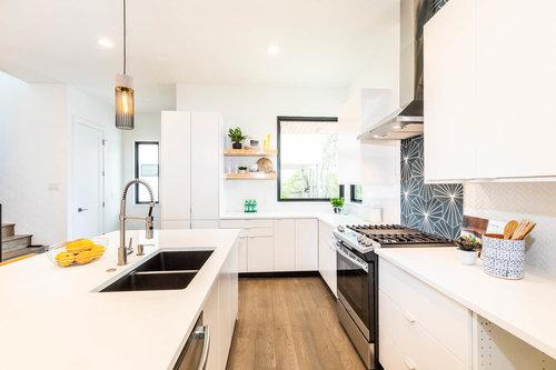 making modern home