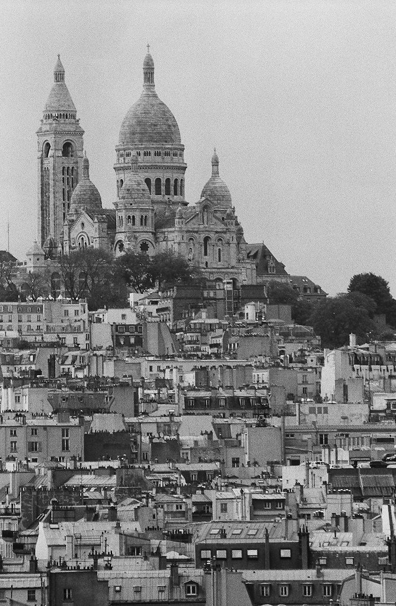 Montmartre | Paris in Black and White | Bill McClave