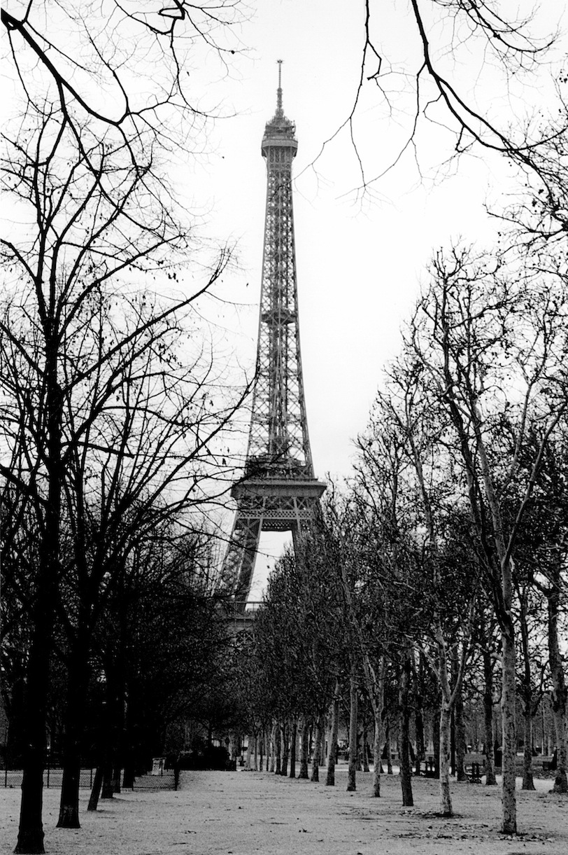 Champ de Mars | Paris in Black and White | Bill McClave