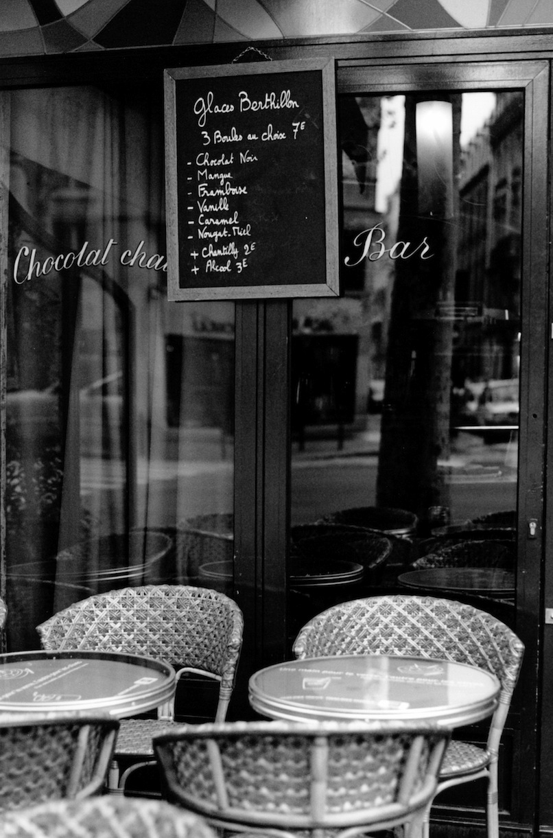 Boulevard Saint-Germain | Paris in Black and White | Bill McClave