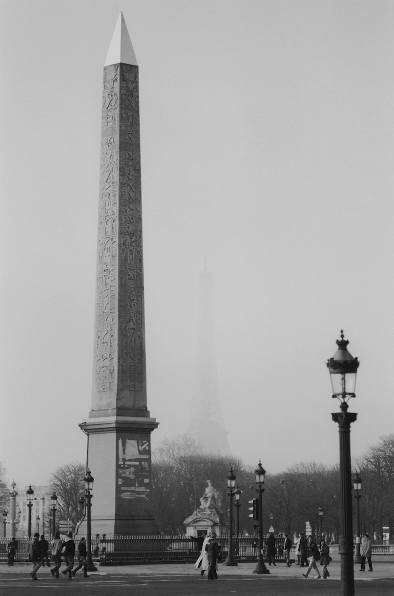 Place de la Concorde | Paris in Black and White | Bill McClave