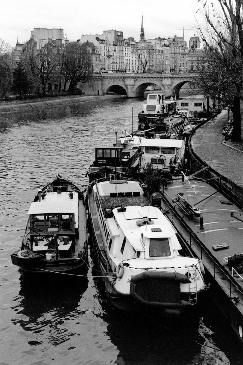 Quai de Conti | Paris in Black and White | Bill McClave