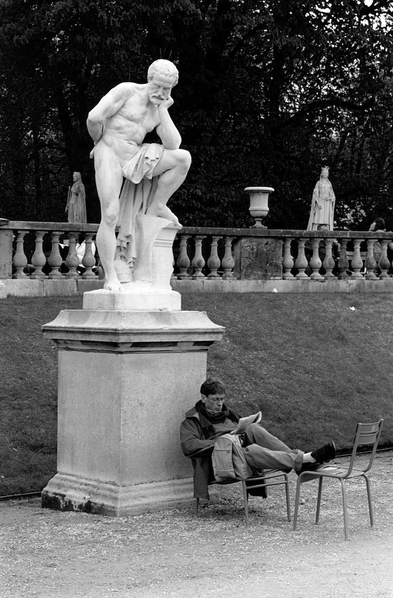 Les Jardins du Luxembourg | Paris in Black and White | Bill McClave