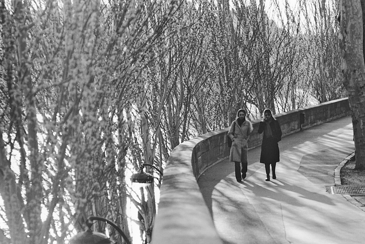 Quai François Mitterand | Paris in Black and White | Bill McClave
