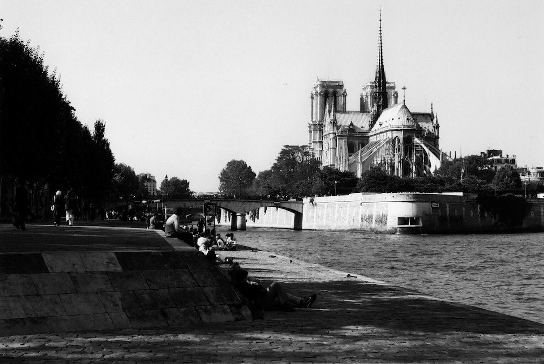 Quai de la Tournelle | Paris in Black and White | Bill McClave