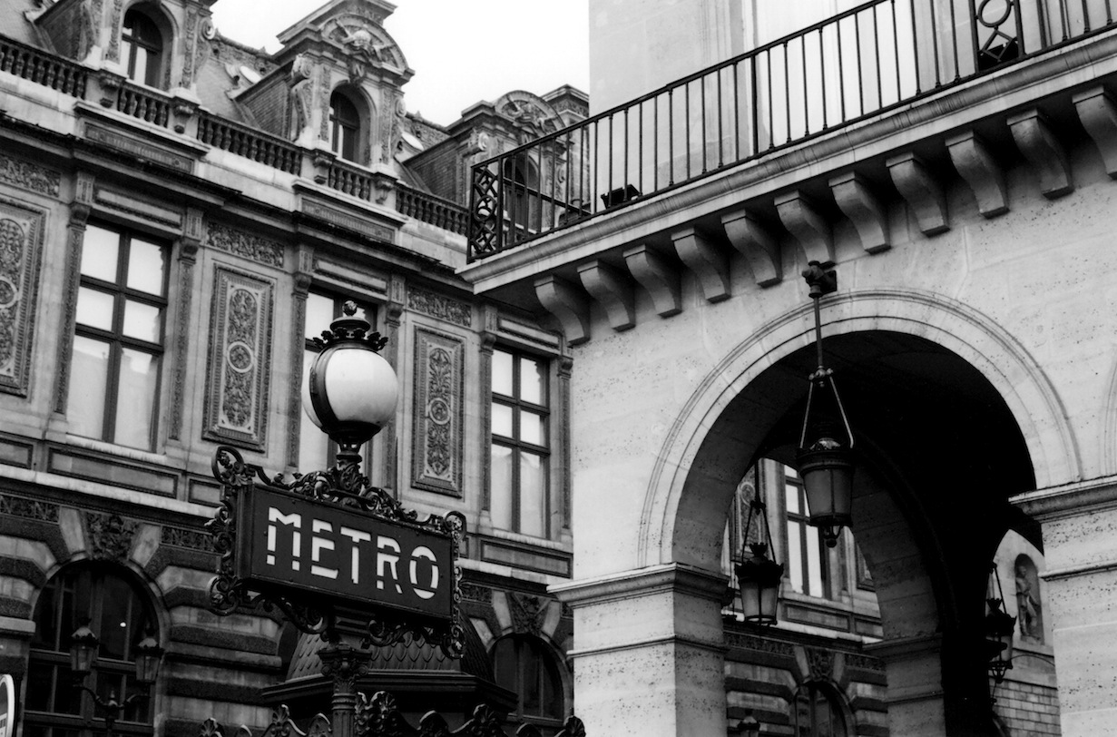 Rue de Rivoli | Paris in Black and White | Bill McClave