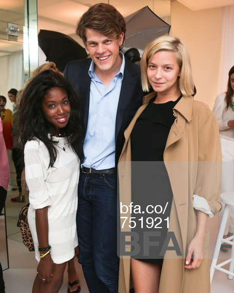 Me, Wes and Annabelle Dexter-Jones at a Clinique party.   Image from Billy Farrell Agency