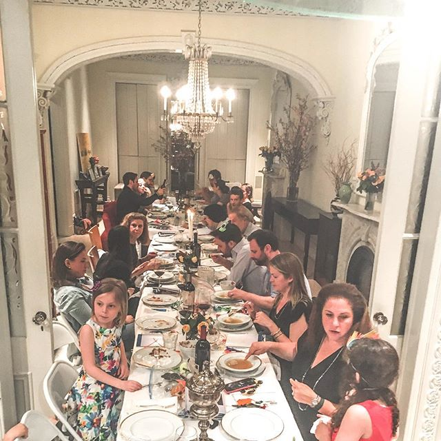 I hope everyone experience at least a fraction of the #love I'm #blessed with in their lifetime. Not only am I blessed with an amazing #blood family but friends that have become family. Thank you @jessicazspitzer and the Spitzers for another great #Passover. #HappyPassover to all of you and yours.