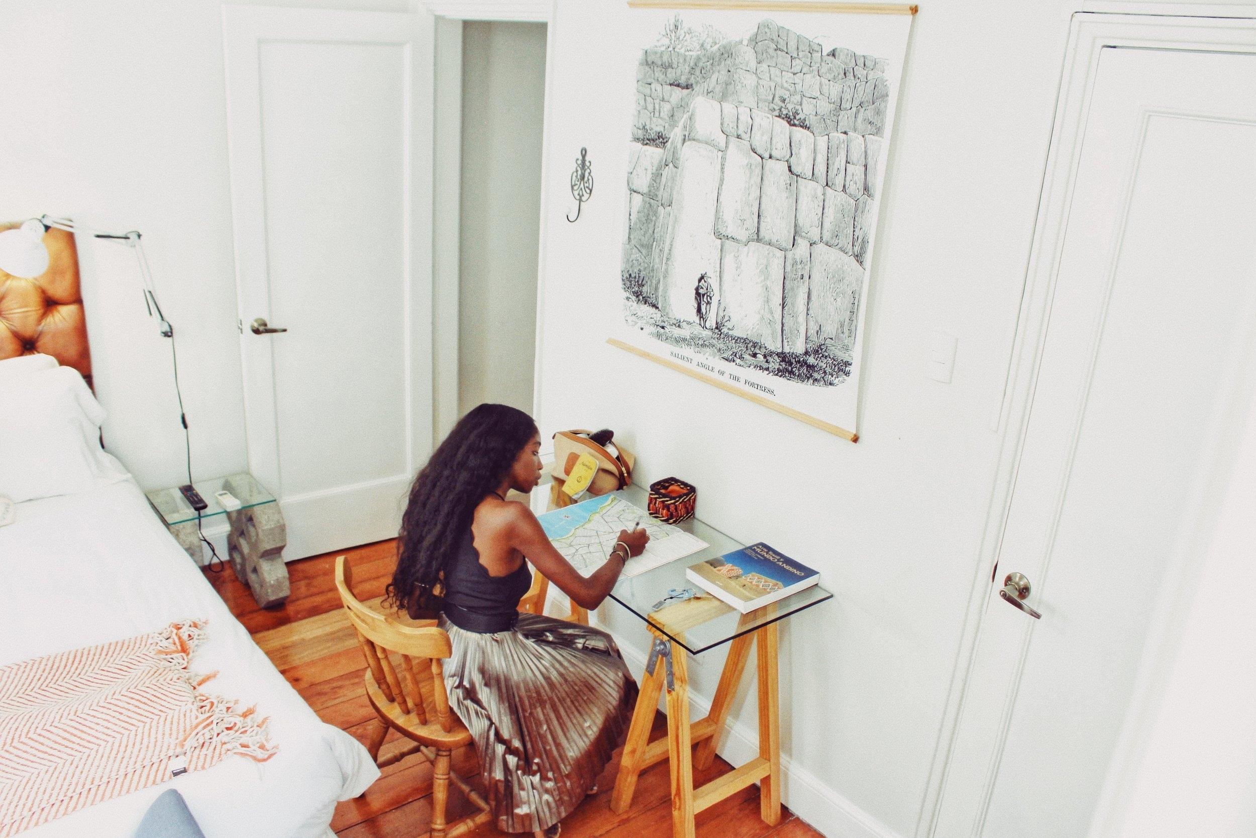 Nneya Richards Writing.JPG