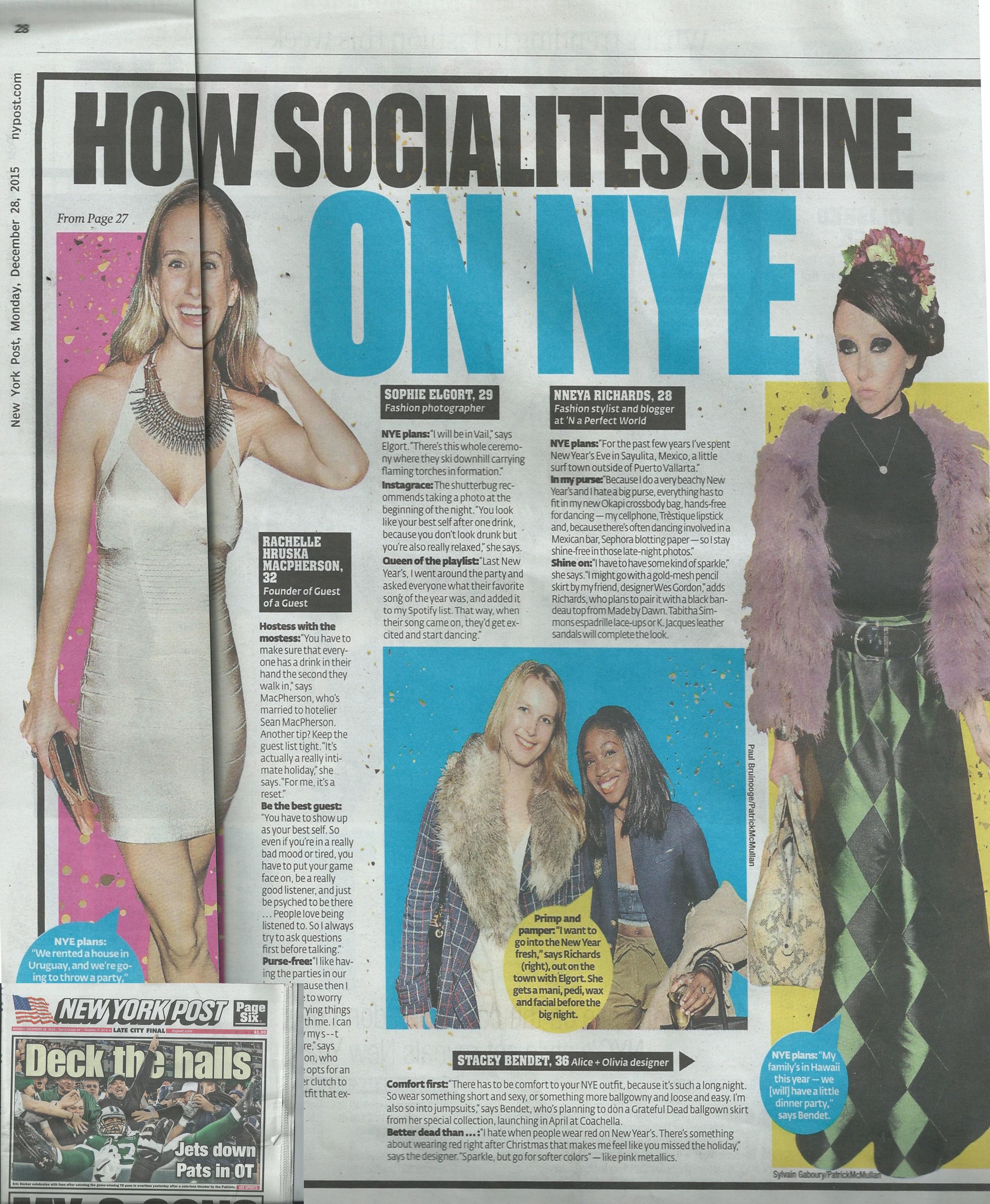 New York Post December 2015