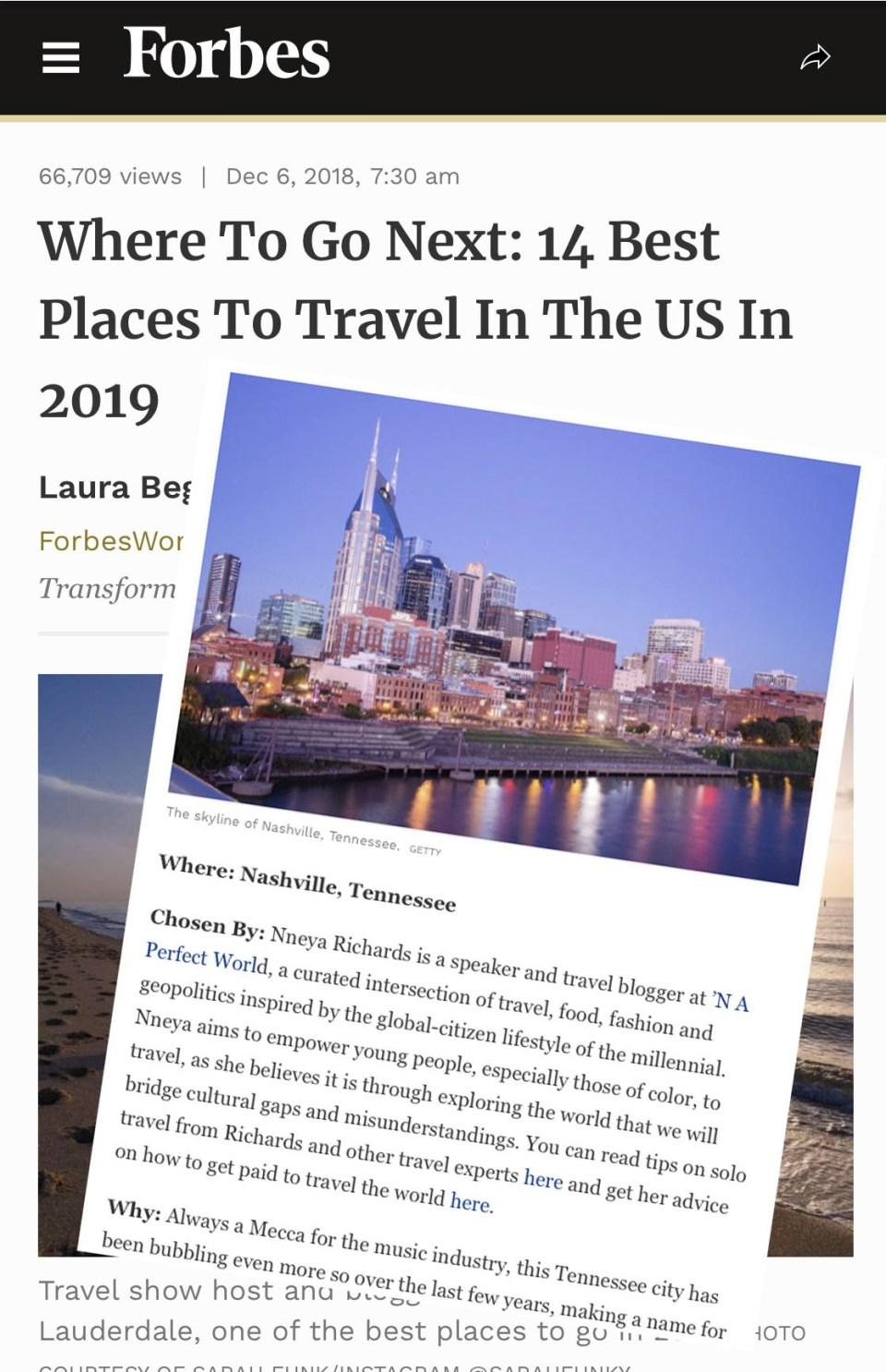 Forbes.com December 2018
