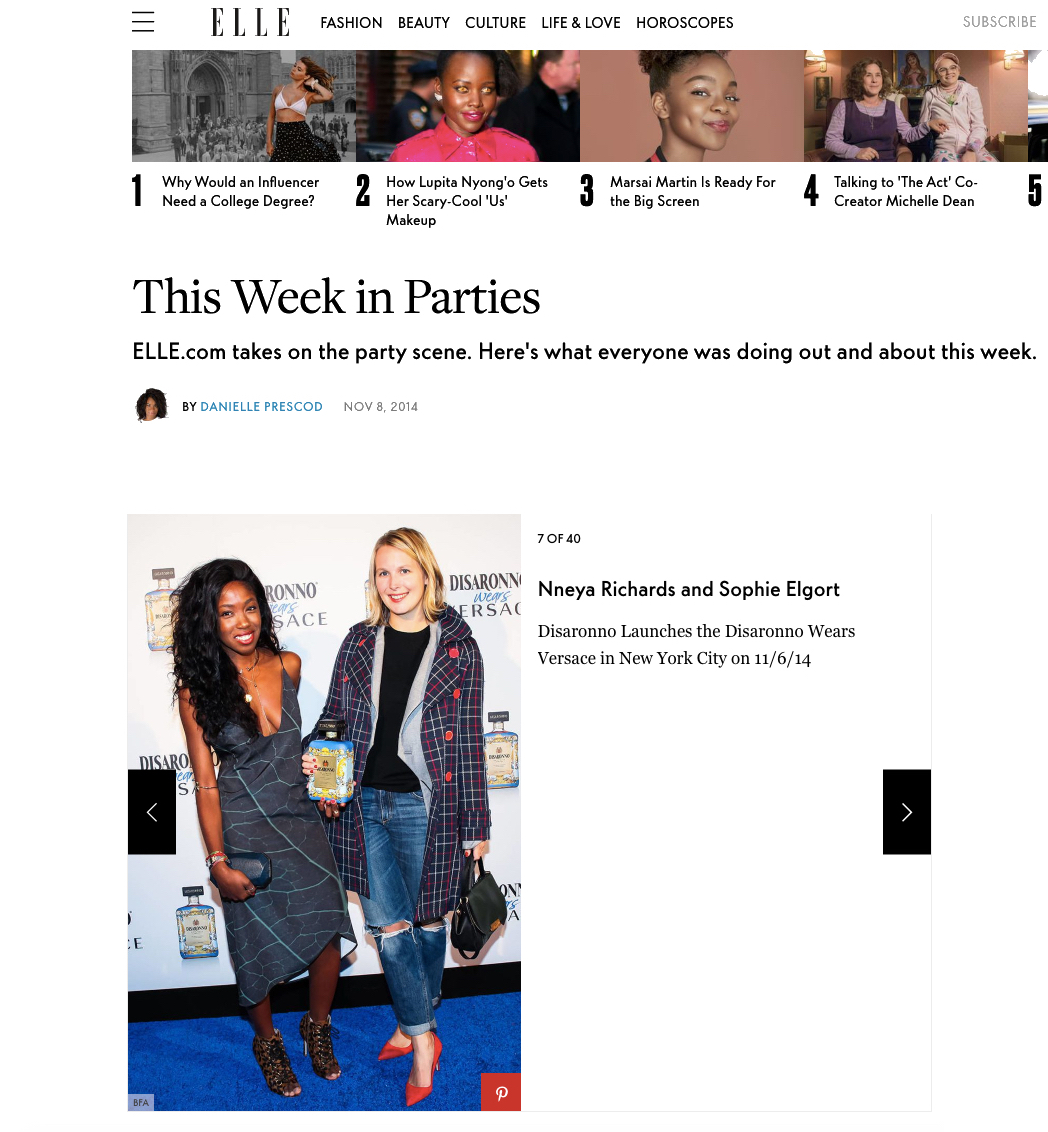 Elle.com November 2014