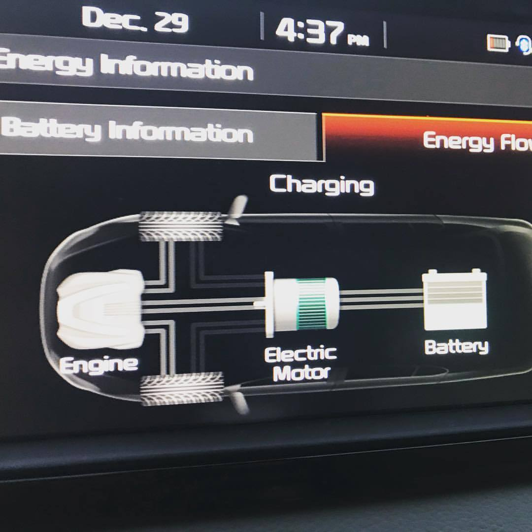 When driving a @kiamotorsworldwide #niro #pluginhybrid #PHEV you can charge battery while driving. Here's me doing it. #driveelectric #hudsonvalley #ny #newyork #sponsored #sethleitman #greenlivingguy #thegreenlivingguy    https://www.instagram.com/p/BsBjFzyHQP-/?utm_source=ig_tumblr_share&igshid=1ercq5xjm4mpk