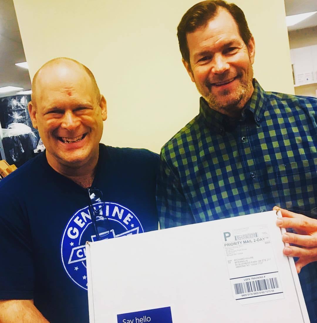 Not many times when I'm beyond grateful to meet a green lighting company. However, they work near me and I get to meet someone who meant the world to NY, the @nhl and the sport of hockey. That's THE Mike Richter. Former Goalie of the NY Rangers. Now when I say he was great it's an understatement. The things this man did for his team, the State of NY and the NHL. MIKE RICHTER IS GREATNESS! It was an honor to meet him as well the CEO of B Franklin. Mike handles the commercial side and the CEO of B Franklin handled the residential. We are holding their amazing package of LED lights. From this you can figure out what you need in your home. Switch up colors and do everything simply from your home. No going back and forth to the store talking to people that have NO IDEA what they are talking about. I'm honored to meet green lighting patriots like them. To me they are part of the front line to saving our economy. More about them in the future! (at Armonk, New York)   https://www.instagram.com/p/BrZHHBnnYFk/?utm_source=ig_tumblr_share&igshid=1dltj5r2juttz