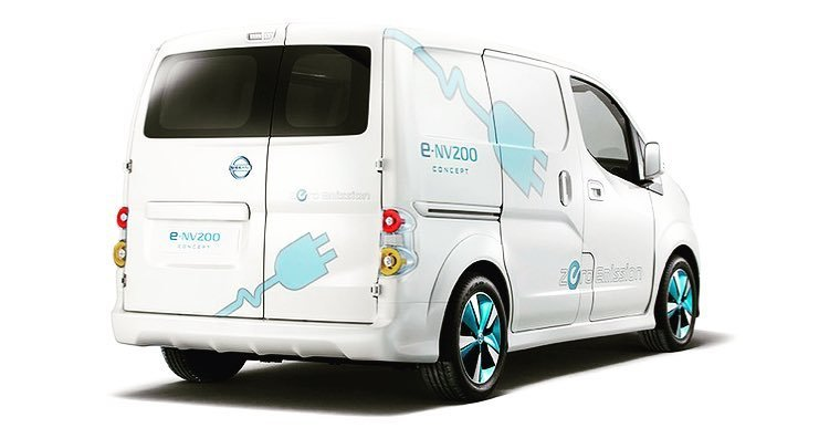 Good ol @nissan e-NV200 just crushing the boards across the pond on Europe's roads. The van of choice. All electric. Story on my blog. Check it out.    https://www.instagram.com/p/Bqbcc21Haqb/?utm_source=ig_tumblr_share&igshid=n4gtde8xa4bk