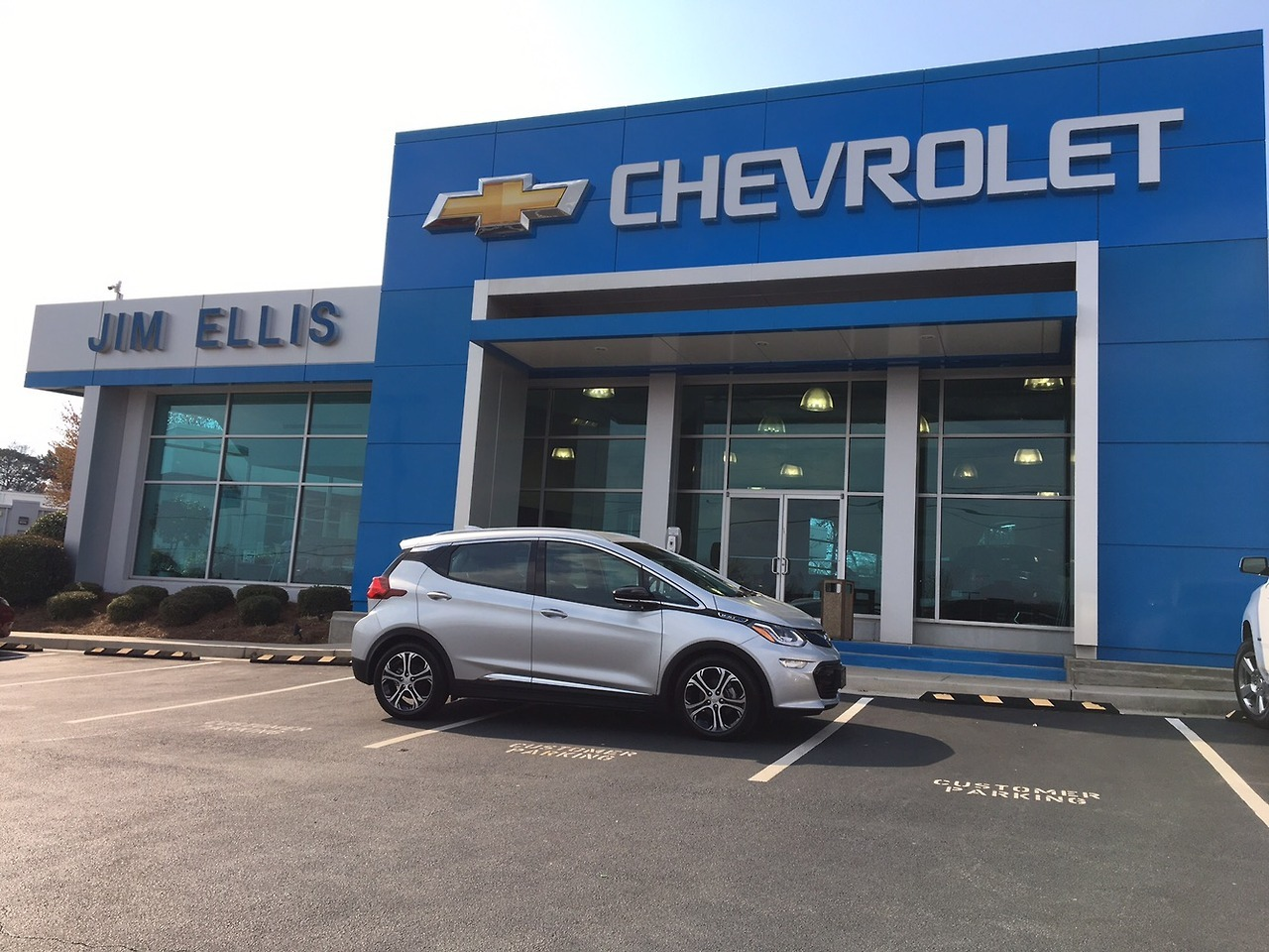 Bolt 'Car of the Year' at Jim Ellis Chevrolet inGeorgia     Atlanta (March 23, 2017) Jim Ellis Chevrolet Brings Bolt Experience to Georgia Drivers First! Jim Ellis Chevrolet announced that the dealership has acquired its first 2017 Chevrolet Bolt.