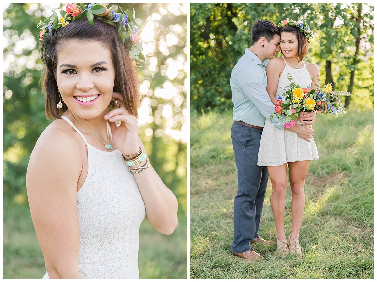 texas summer engagement
