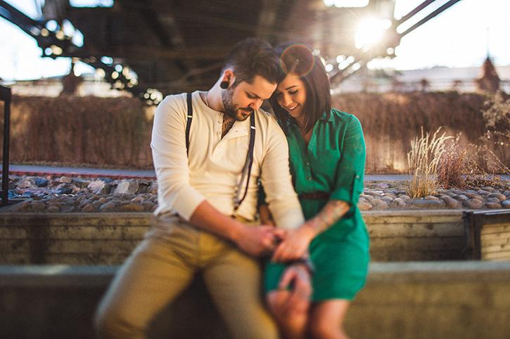 Alternative Denver Wedding Photographer