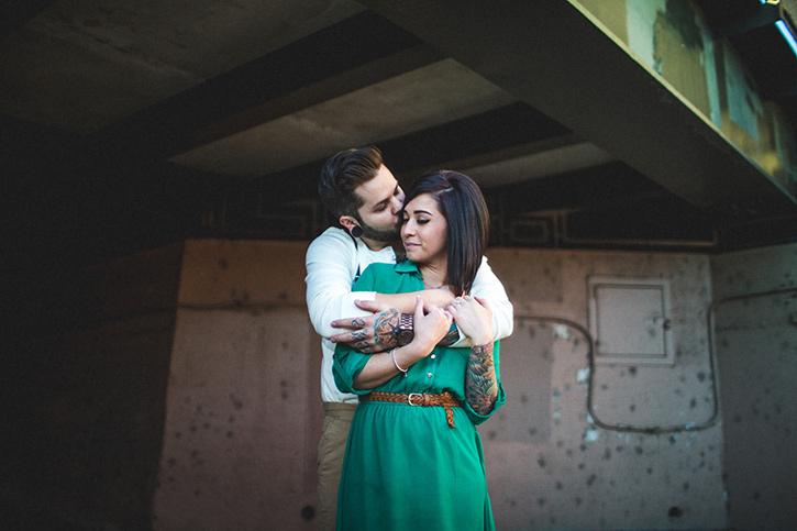 Denver Wedding Photographer Tattooed Couple