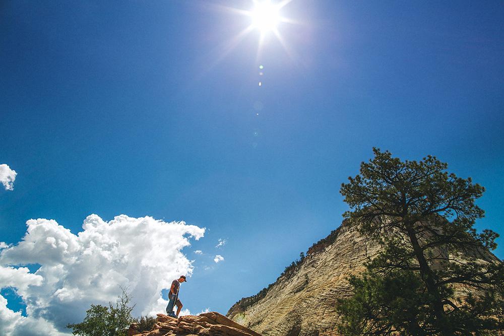 Zion Utah Portrait