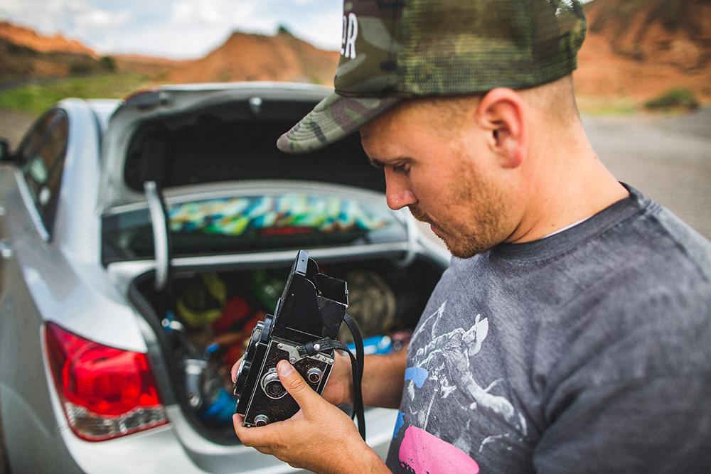 Film Camera Roger Ellsworth