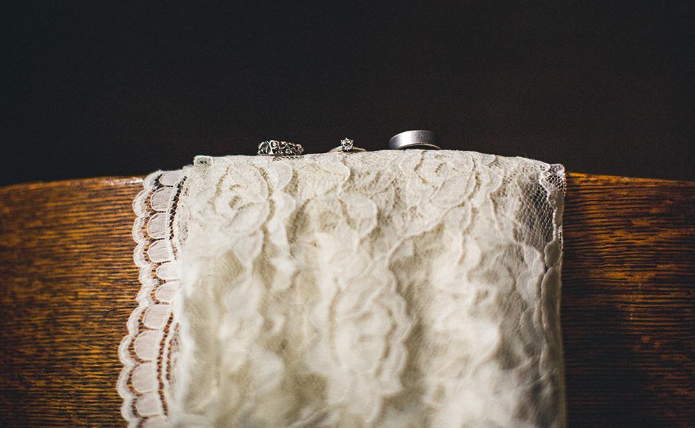 Creative Wedding Ring Shot
