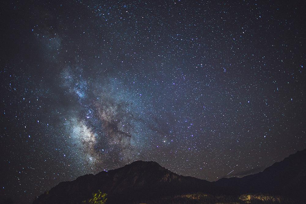 Milky Way Mountains