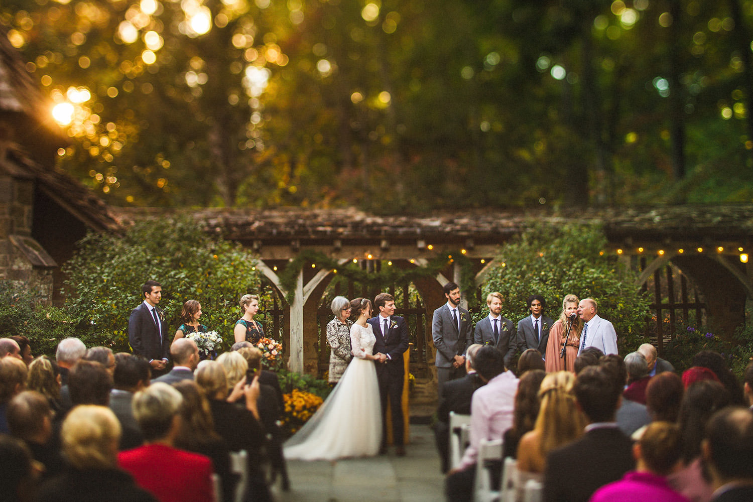 Cloister Castle Wedding Ceremony