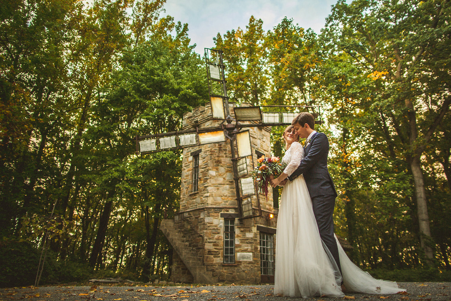 Cloister Castle Wedding Windmill