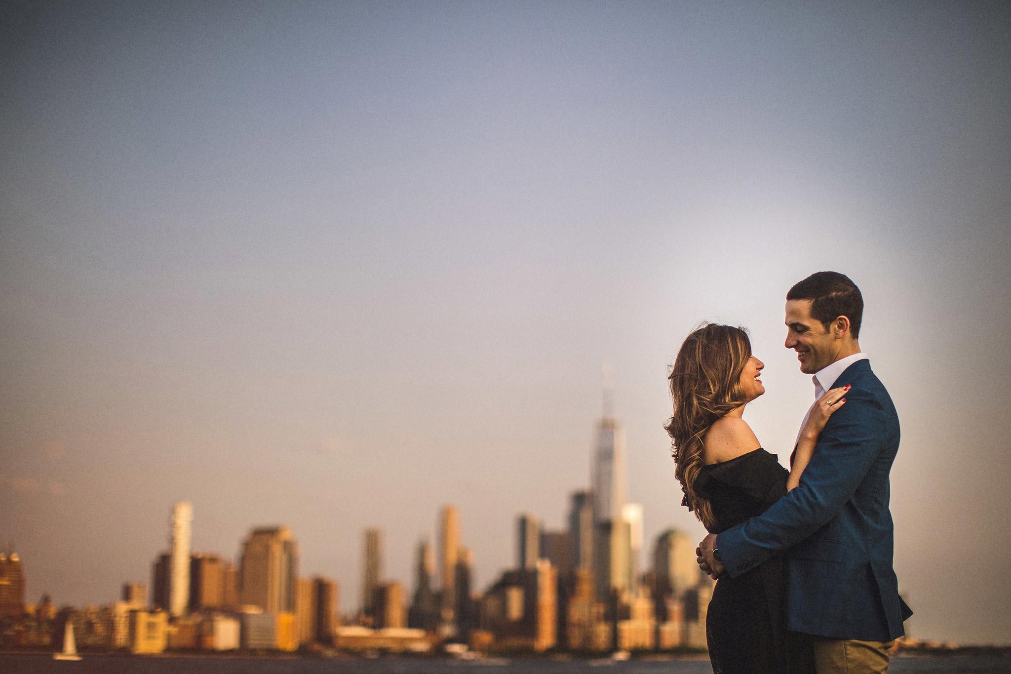 New York Skyline Romantic