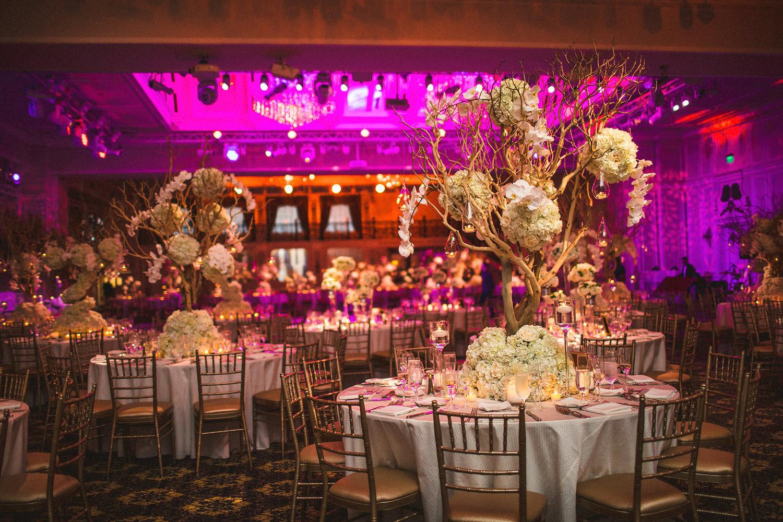 The Legacy Castle wedding reception