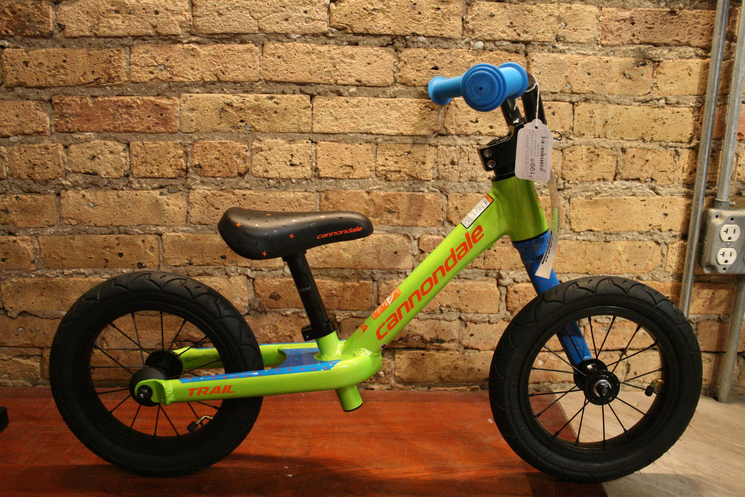 "Cannondale Trail 12"" Balance Bike - $199.99"