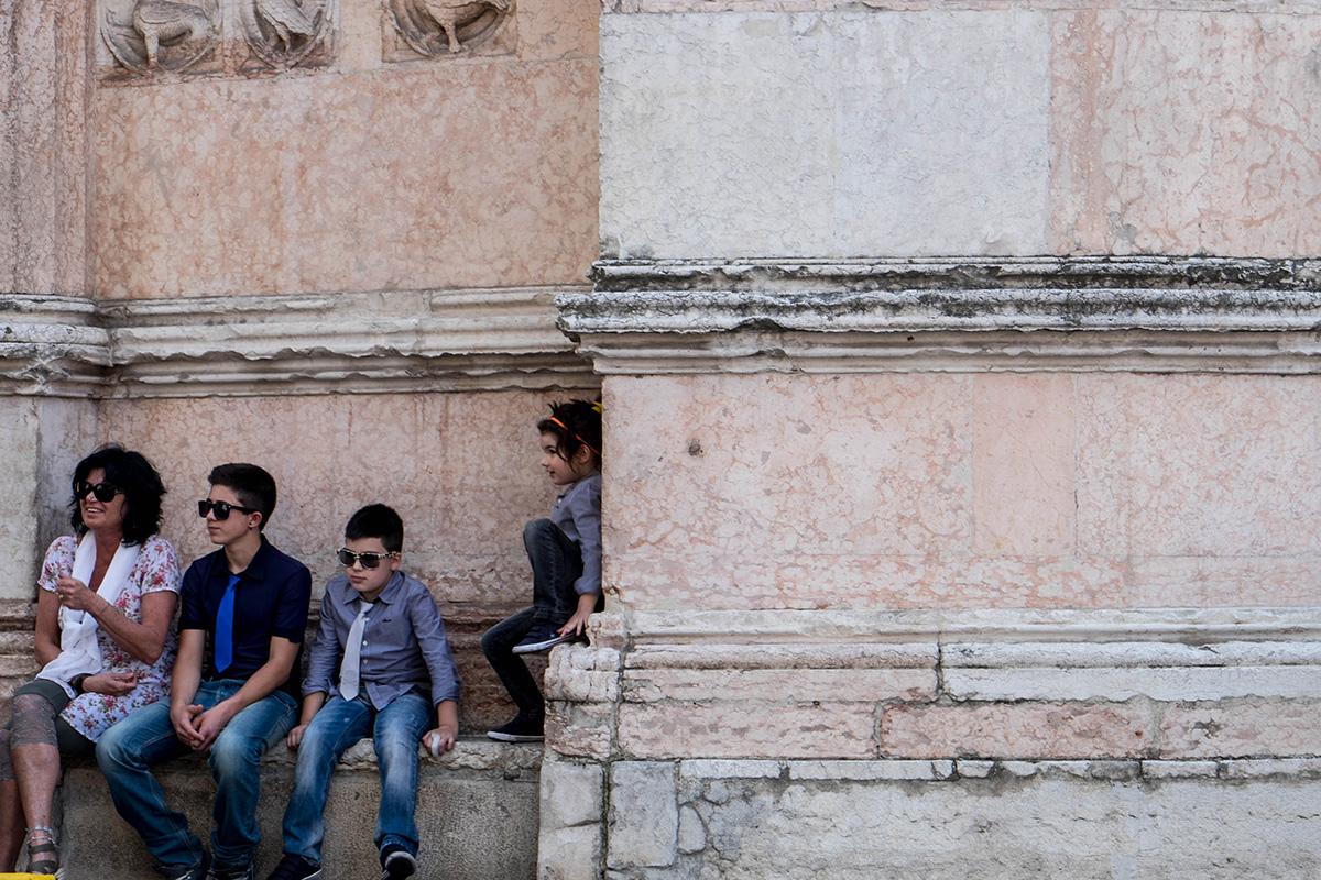 The locals of Parma.