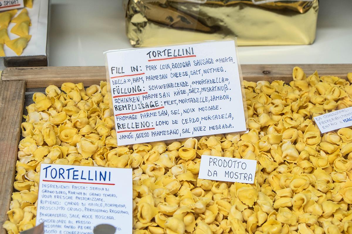 Tortellini - what the region of Emilia-Romagna is famous for!