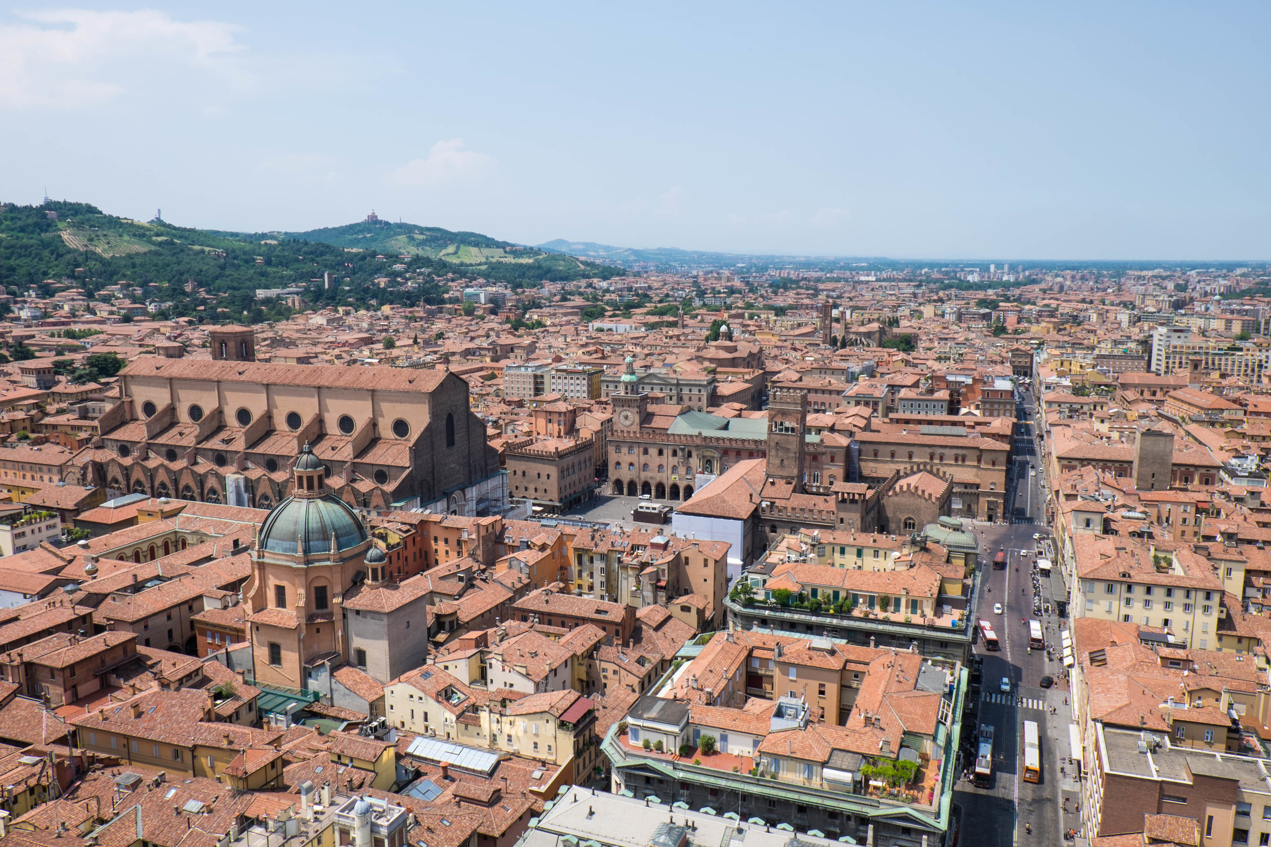 Climbed 498 steps up the Tower of Aisnelli to see this beautiful view.