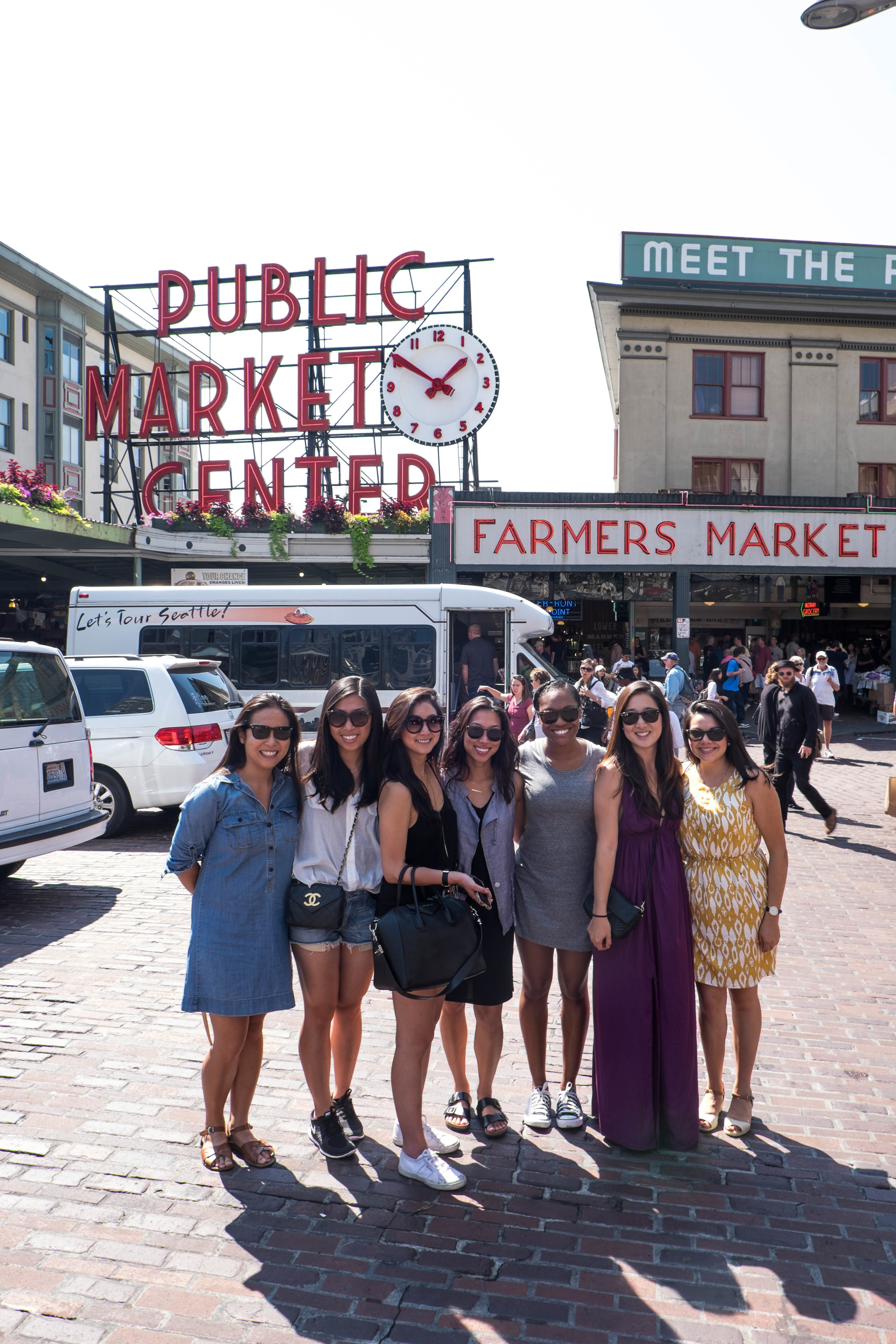 Doing the touristy thing - Pike's Place.