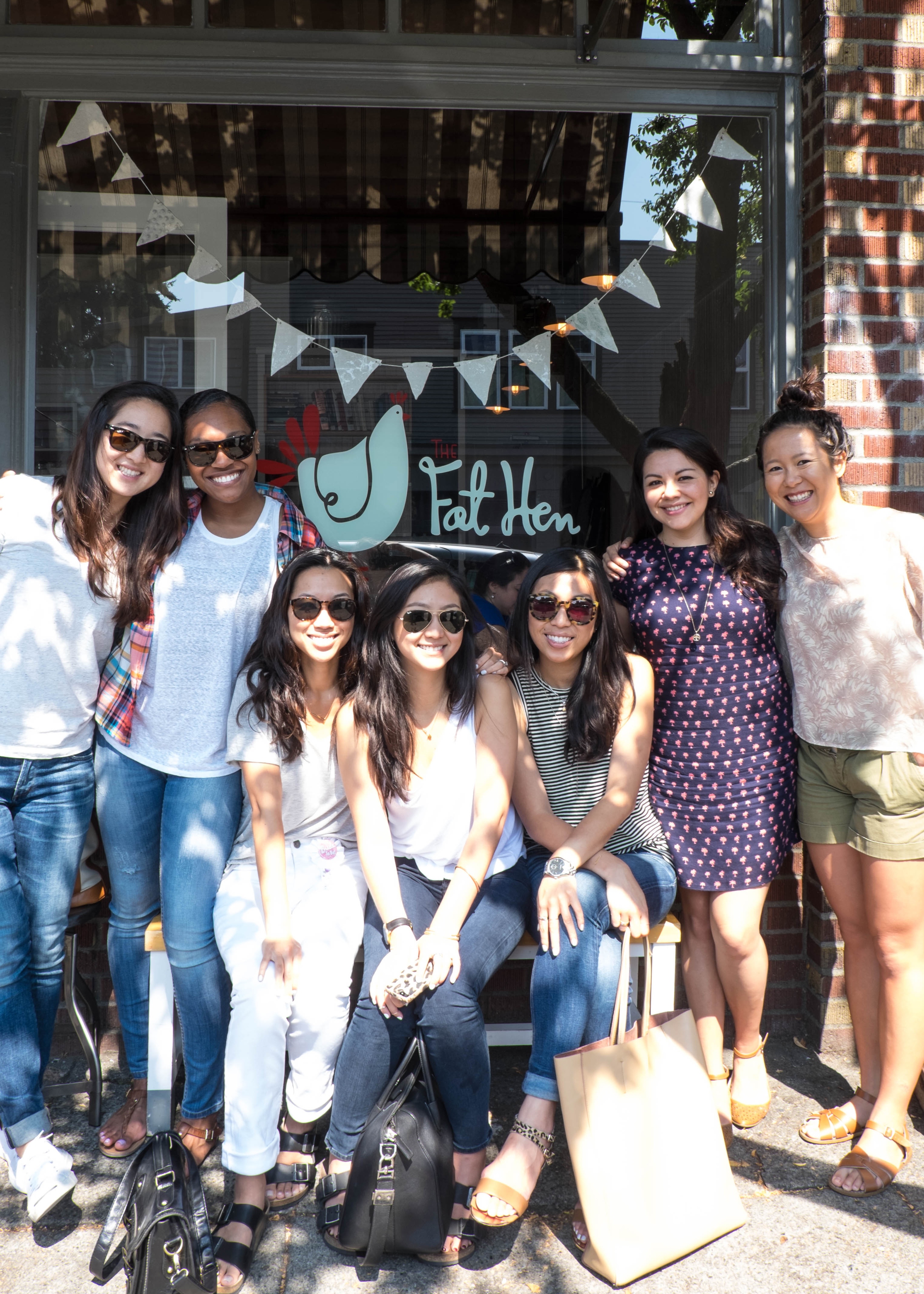 Cute and delicious brunch -  The Fat Hen .