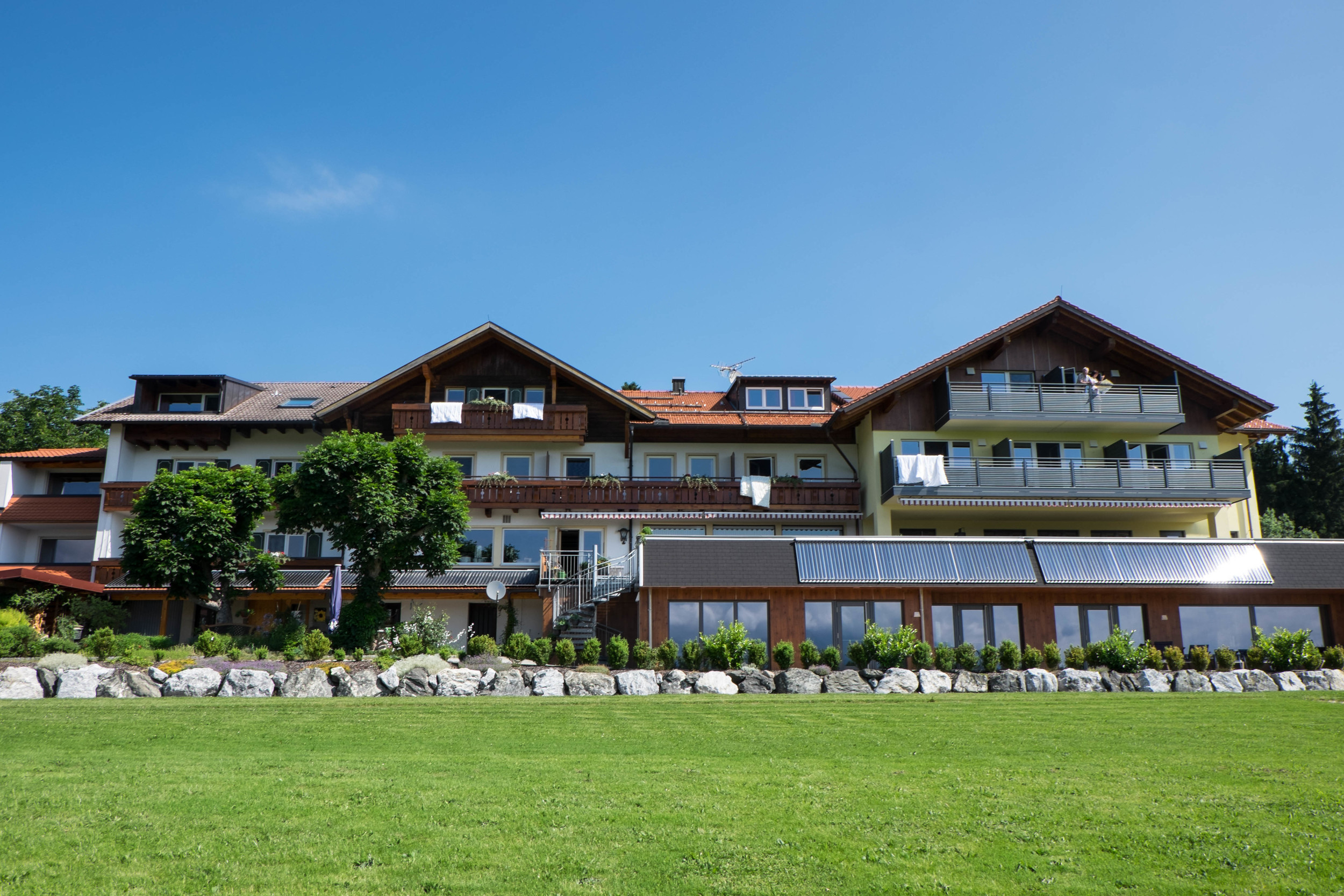 The hotel I stayed at -  Panorama Hotel  - a family run hotel for over 100 years!