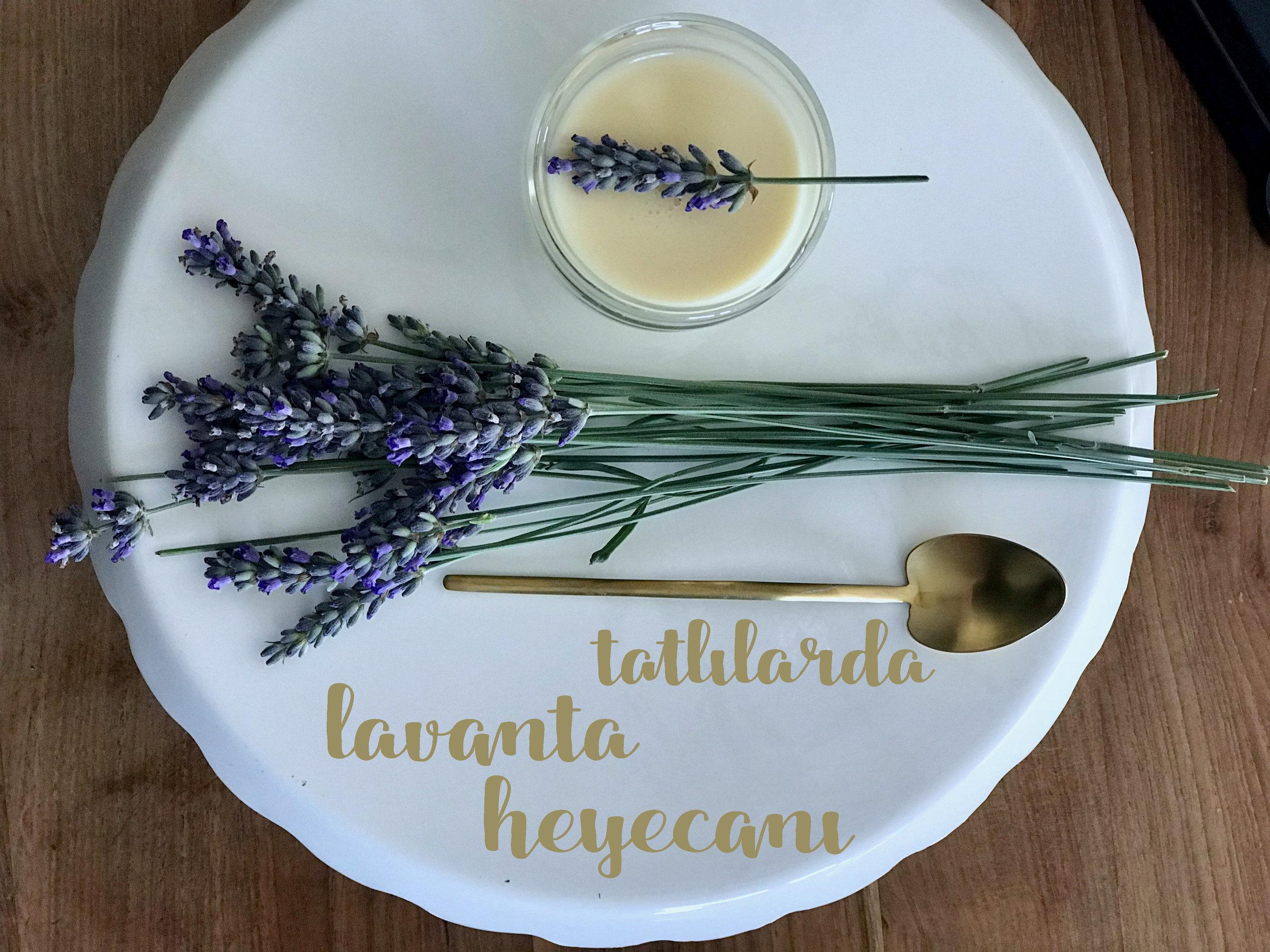 Limonlu Lavantalı Krema
