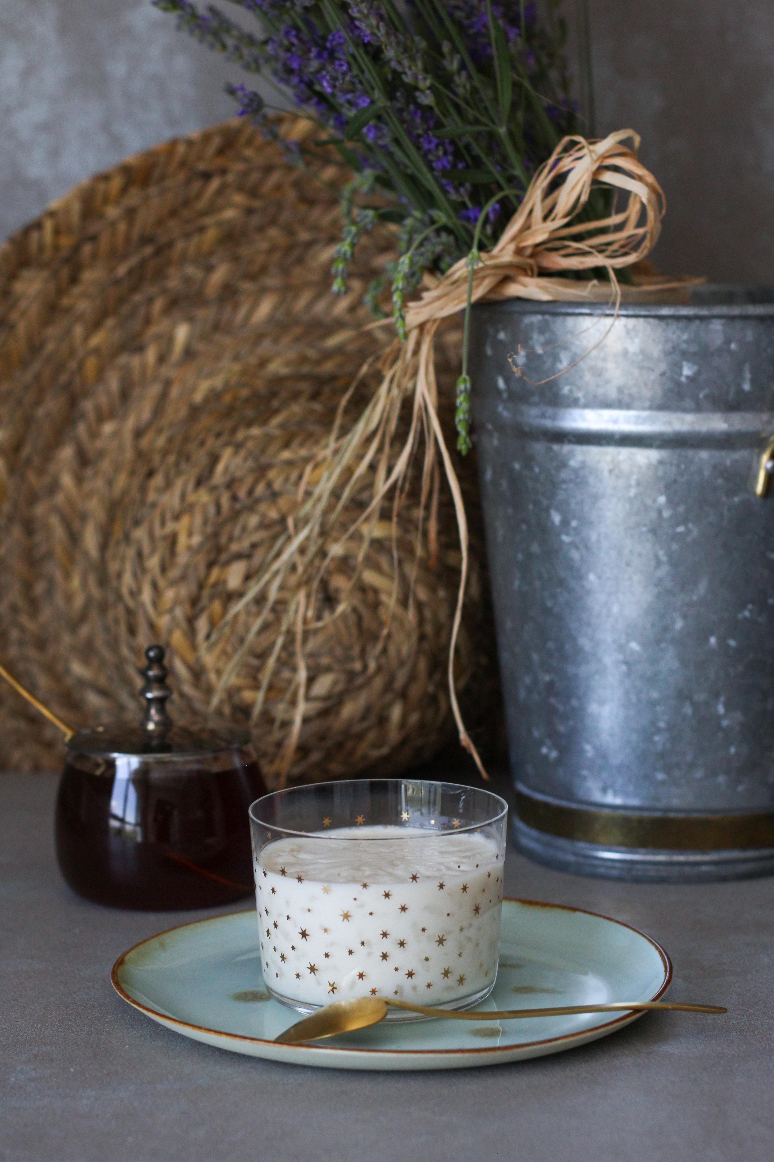 Lavantalı Tuzlu Sütlaç & Bal