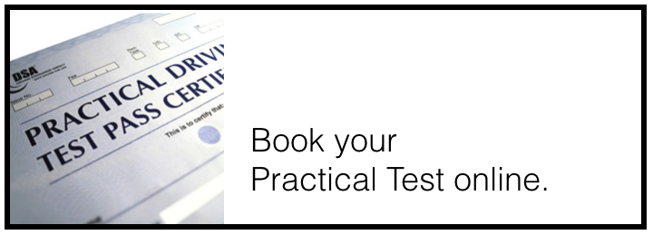 book your practical driving test online