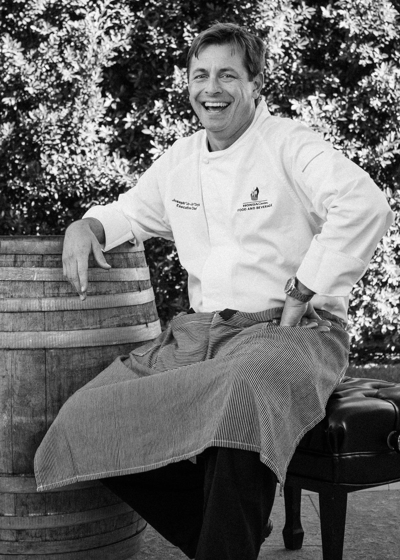 "9. Chef Joseph ""Jo-Jo"" Doyle / Honda Center / Anaheim, California"