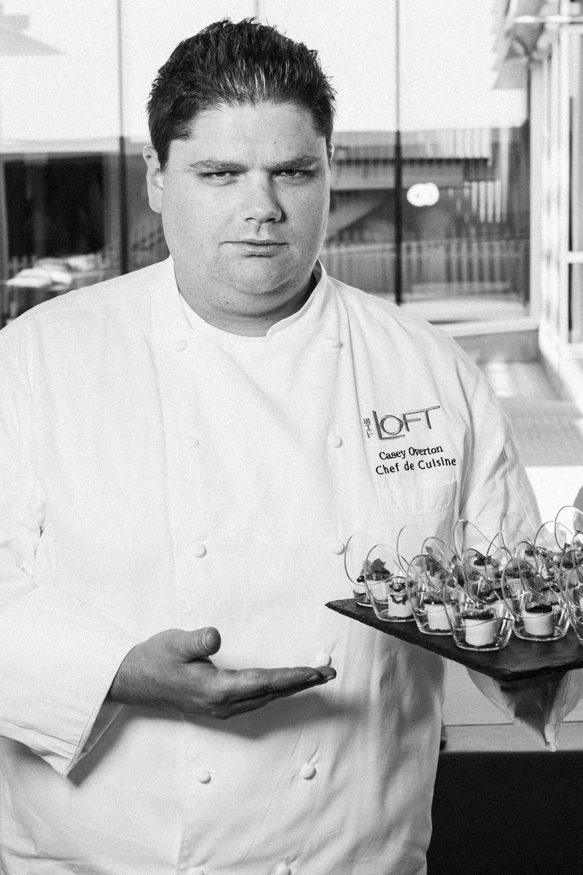 13. Chef Casey Overton / The Loft @ Montage / Laguna Beach, California
